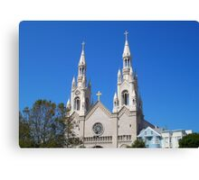 ST Peter and Paul  Church Canvas Print