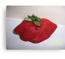 Mutant Strawberry Canvas Print