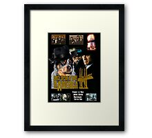 Australian Cattle Dog Art - Once Upon a Time in America Movie Poster Framed Print