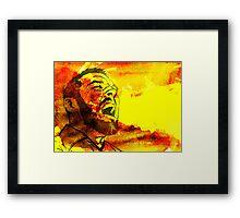 Fire Breather Framed Print