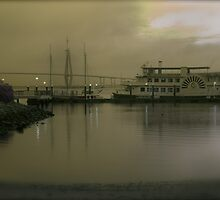 Misty Morning Harbor by PGBateman