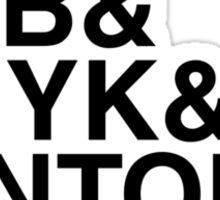 RGB & CMYK & PANTONE. Sticker
