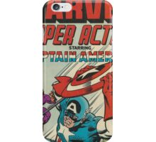 Captain America - Comic Book Art iPhone Case/Skin