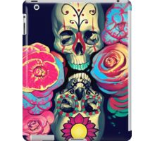 Skulls and Flowers iPad Case/Skin
