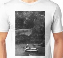 BENEATH WAVES OF CRASHING ROCK Unisex T-Shirt