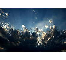 Cloud Study  Photographic Print