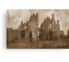 Ruined Canvas Print