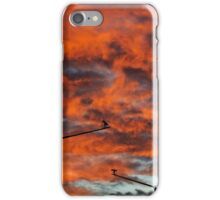 Sunset Surveillance iPhone Case/Skin