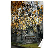 Autumn At Ely Cathedral) Poster