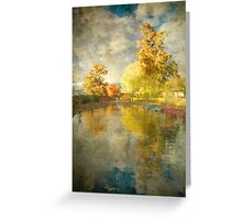 Autumn in the Pond Greeting Card