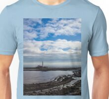 St Mary's Island and Lighthouse Unisex T-Shirt