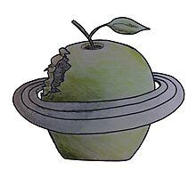 Apple Planet Photographic Print