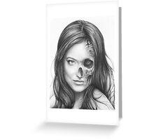 Dr. Hadley, Thirteen, Olivia Wilde Portrait, House MD Art Greeting Card