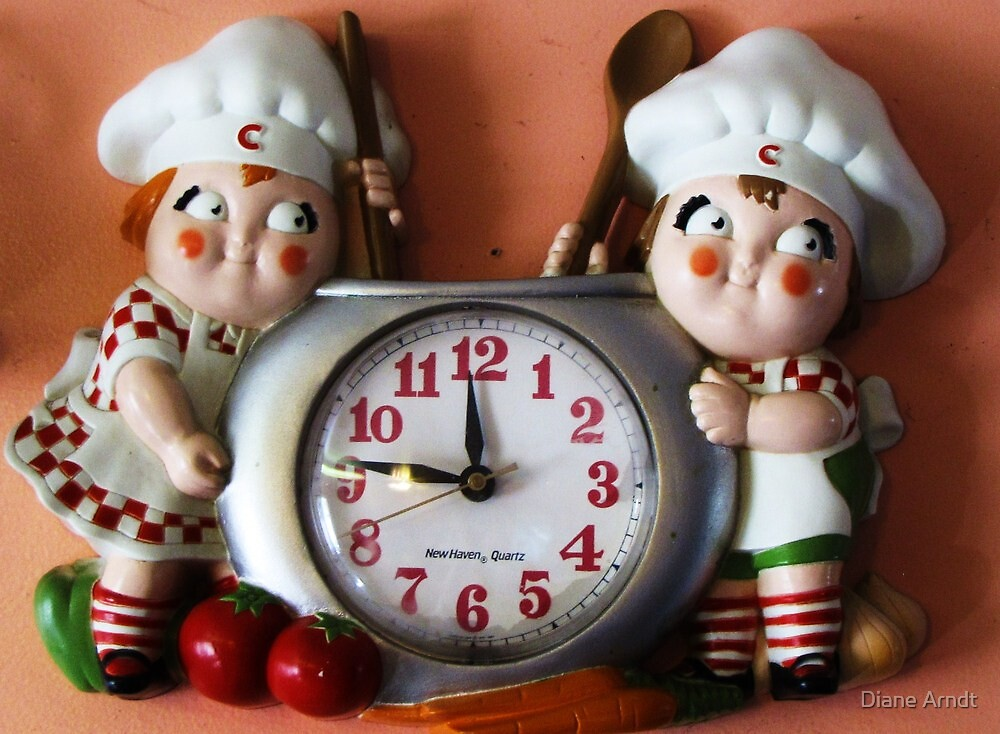 Campbell's Soup Kids Clock by Diane Arndt