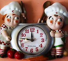 Campbell's Soup Kids Clock by trueblvr