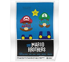 THE MARIO BROTHERS Poster