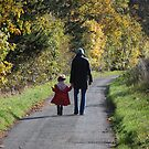autumn walk by linsads
