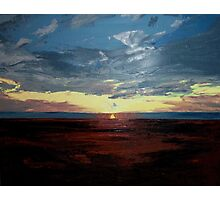 Magdalen Sunset Photographic Print