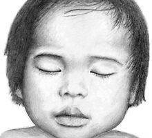 Asian Baby by Nicole Zeug
