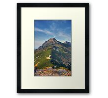 Giewont - Tatry, Poland. Framed Print