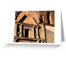 Tumacacori Facade Greeting Card