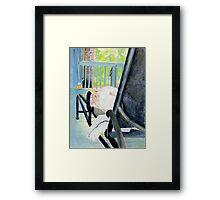 Zoe the Great Dane Pup #1 Framed Print