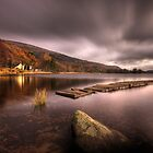 Loch Ard (long exposure) by David Mould