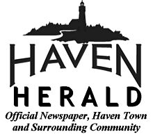 Haven Herald News Black Logo by HavenDesign