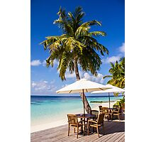 Postcard from Vilamendhoo in the Maldives Photographic Print