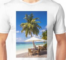 Postcard from Vilamendhoo in the Maldives Unisex T-Shirt