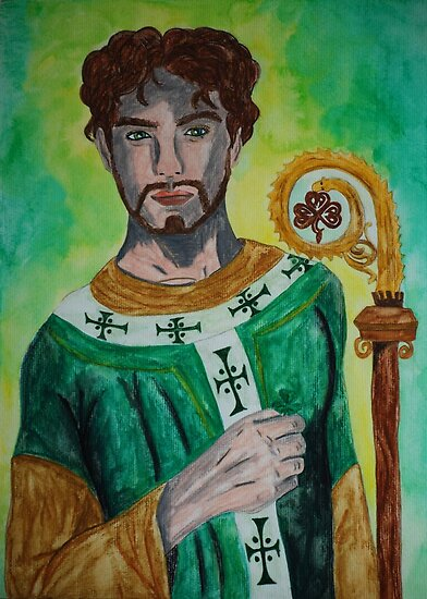Saint Patrick by Rowan  Lewgalon