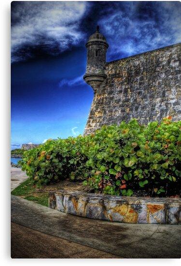 La Garita del Morro, Old San Juan, Puerto Rico by Aurelio Torres