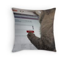 Marilyns Review Throw Pillow