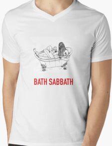 Bath Metal Mens V-Neck T-Shirt