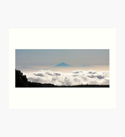 Teide viewed from El Hierro Art Print