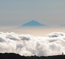 Teide viewed from El Hierro by Phil  Crean