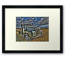 Old Mack Framed Print
