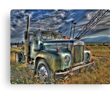 Old Mack Canvas Print