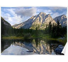 Mount Kidd, Canada. Poster