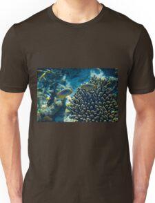 Maldivian coral reef Unisex T-Shirt
