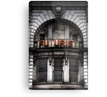 The Future is Now, Forget the Past, Liverpool Metal Print