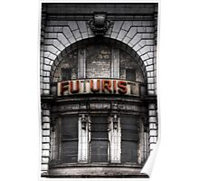 The Future is Now, Forget the Past, Liverpool Poster