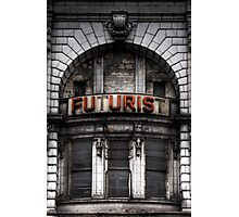 The Future is Now, Forget the Past, Liverpool Photographic Print