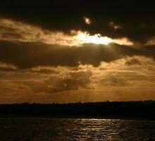 Scary sky at Skerries by Martina Fagan