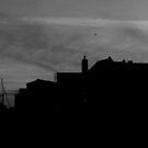 Town Skyline by Alice Oates