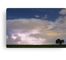 Stormy Starry Night Canvas Print