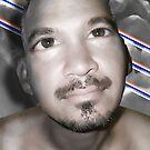 Piercing Stare on Cream by GolemAura