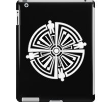 Haven Troubled Guard Tattoo White Logo iPad Case/Skin