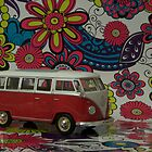 VW bus by Julie McBrien