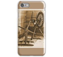 Spinning Wheel iPhone Case/Skin